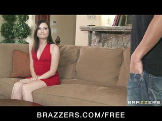 brunette cougar babe comes to the casting couch