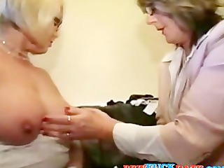 two bbw lesbian grandmothers pleasing