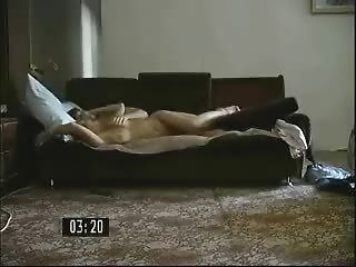 russian grown-up milf fucked by her sons lover
