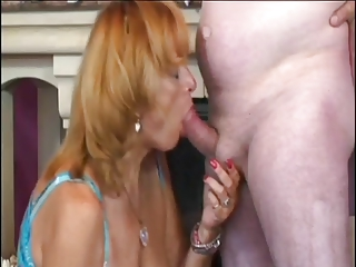 mature cleaning girl needs a dick