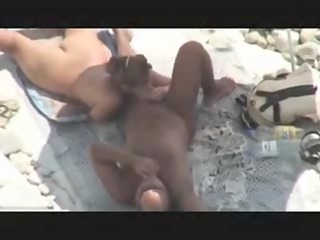 cougar couple caught drilling on beach by voyeur