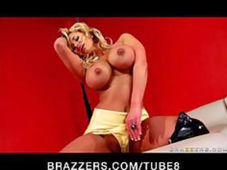 huge breast mature movie star oils her anal