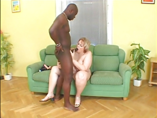 bbw chick cock sucking and banging ebony dick