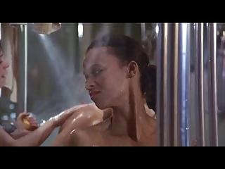 furry woman into bathroom