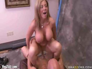 awesome mature babe celebrity sara jay jizzed