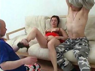 lady has butt copulate with her son and his fucker