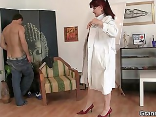 so impressive grown-up girl jumps on his libido