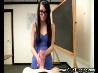 horny eager undergraduate give a super finger job