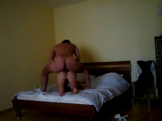 horny cheating lady came over to visit and pierce