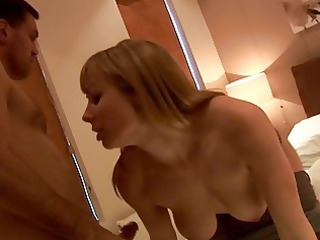 pale angel uses her tits to mesmerize