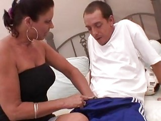 awesome momma vanessa videl pleasures a
