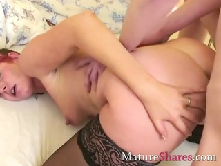 ginger grown-up does anal