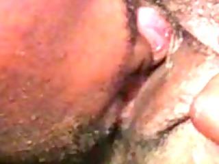 busty black woman titty gang-bangs her amigo