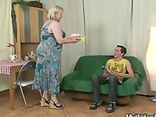 slutty old seduces her son in law