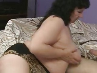 fat mature is banging her elderly boyfriend