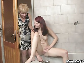his girl licks her whore later daddy gangbangs her