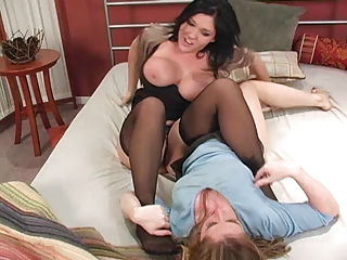 naughty milf meets small mistress1