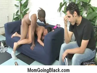 watching my angel go ebony : large brown libido