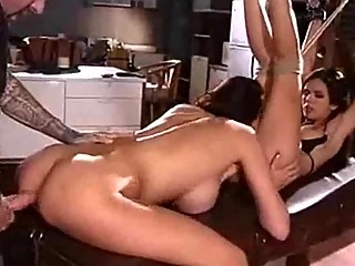 hardcore woman threesome gang-banging fantasies