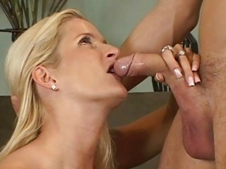 blond mature babes ball licking cock sucking act
