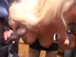 sylvie, older gangbanged by blacks dicks