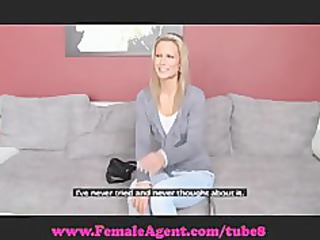 femaleagent. bisexual blonde loveliness