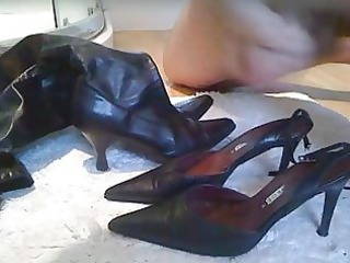 cumming in her shoes 3 the wifes