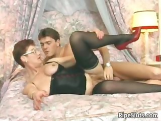 horny mature redhaired acquires that bushy part4