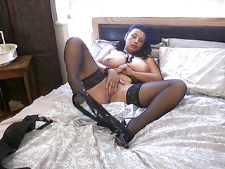 english woman danica plays with herself on the