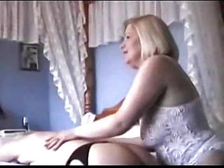 two grannies into brief and nylons