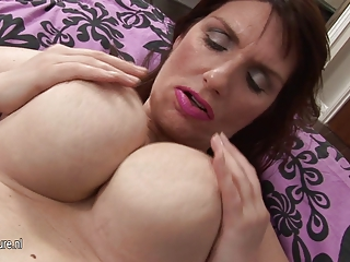 wonderful giant brested inexperienced woman