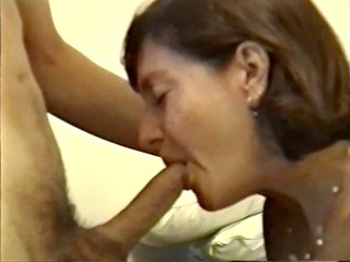 mature chick giving hot penis licking
