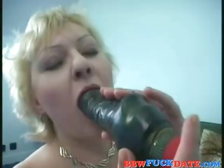 bigbreasted elderly albino bimbo does a plastic