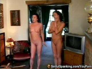 spanked lady girls