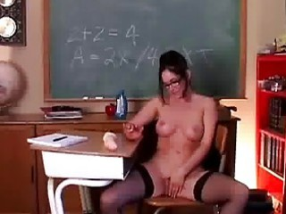 woman into pantyhose feels horny