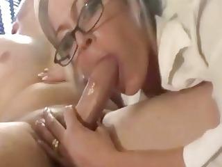 mature babe dick sucking and facial compilat...