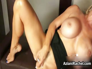 rima aziani with her awesome large