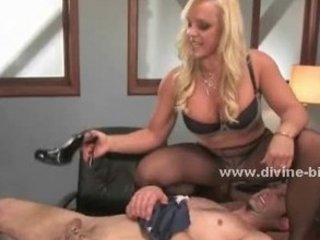 pale milf mistress using her experience and