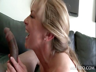 chick acquires quim nailed by black cock