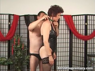 old cougar slut likes punishing during
