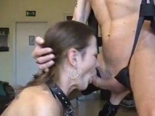 german grown-up gives ideal blowjob