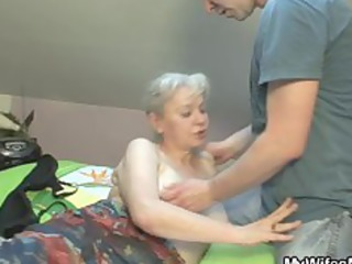 she sucks and copulates her son inside law