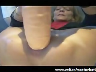 extreme anal masturbation of old fiona