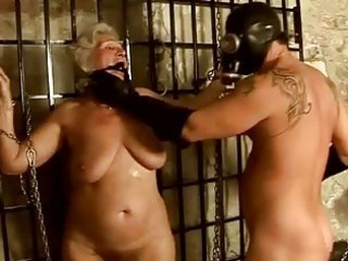 granny taking punished and gang-banged hard