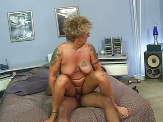 banged nipples tattoo granny inside nylons fucks