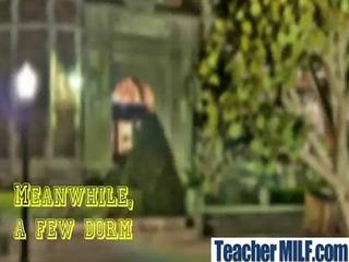 desperate teachers taking uneasy pierced video-26