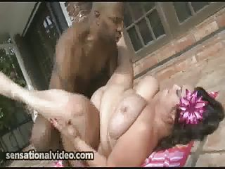 bbw mom obtains gang-banged inside ass by large