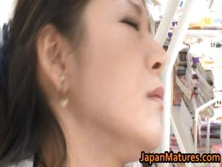 ayane asakura eastern mature babe has open-air