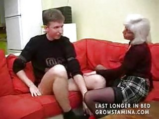 old with saggy breast acquires pierced part1