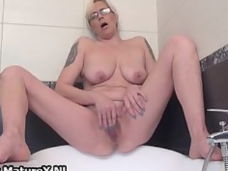 slutty wife spreading and masturbating part2